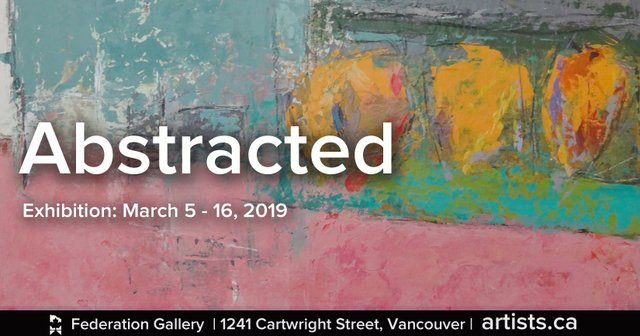 """Federation of Canadian Artists, Abstracted,"""" 2019"""