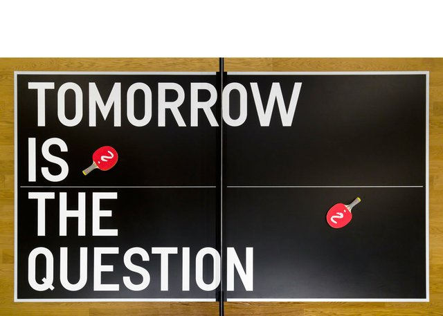 "Rirkrit Tiravanija, ""Tomorrow is the Question,"" 2019"