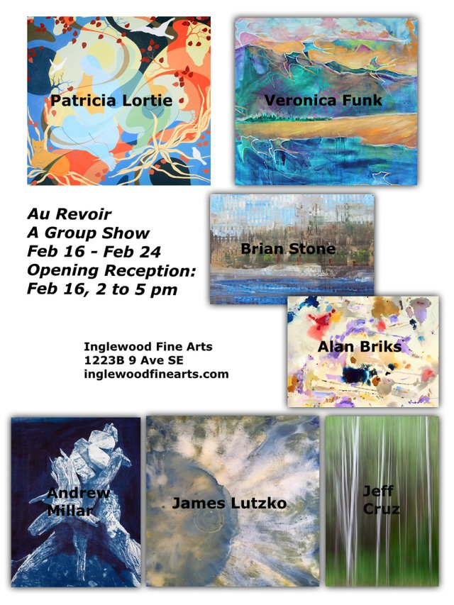 "Inglewood Fine Arts, ""Au Revoir - A Group Show,"" 2019"