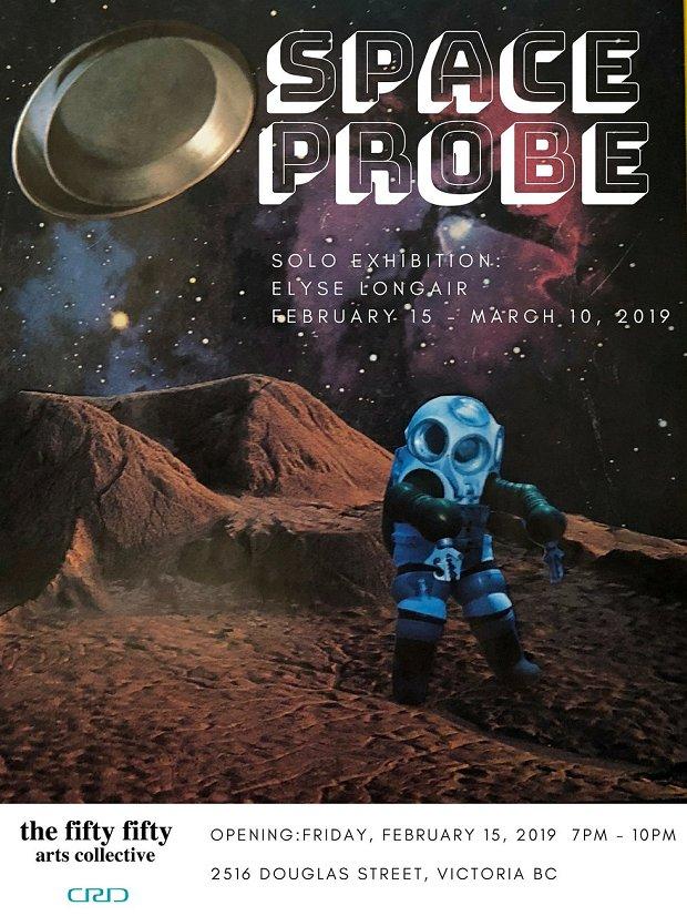 """Elyse Longair, """"Space Probe,"""" 2019"""