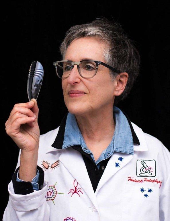 Mireille Perron, founder of the Laboratory of Feminist Pataphysics, 2018