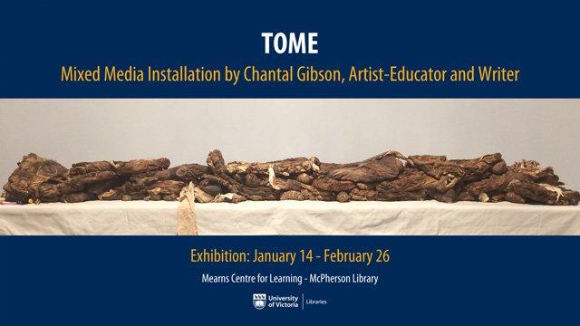 "Chantal Gibson, ""TOME,"" 2019"