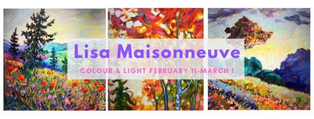 """Lisa Maisonneuve, """"Colour and Light,"""" 2019"""