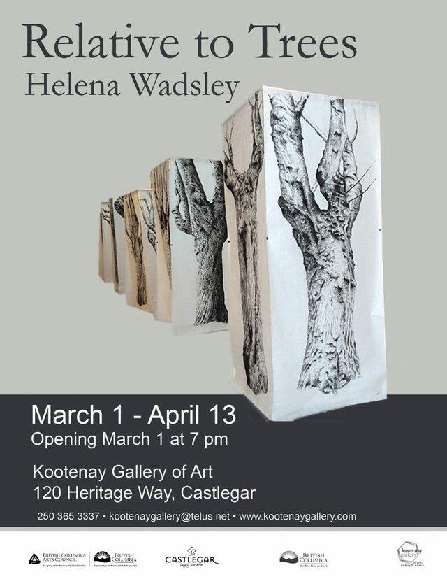 "Helena Wadsley, ""Relative to Trees,"" 2019"
