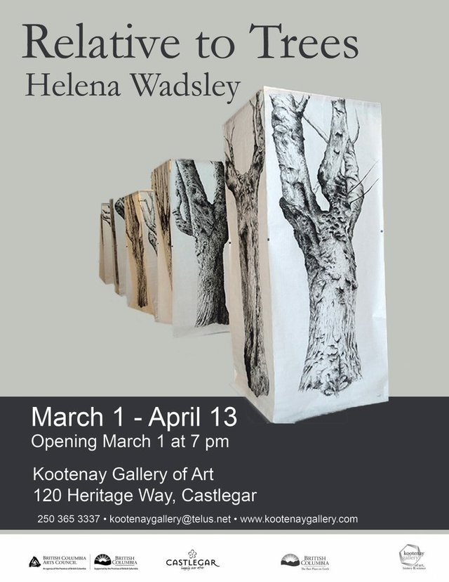 "Helena Wadsley, ""Relative to Trees,"" 2019"