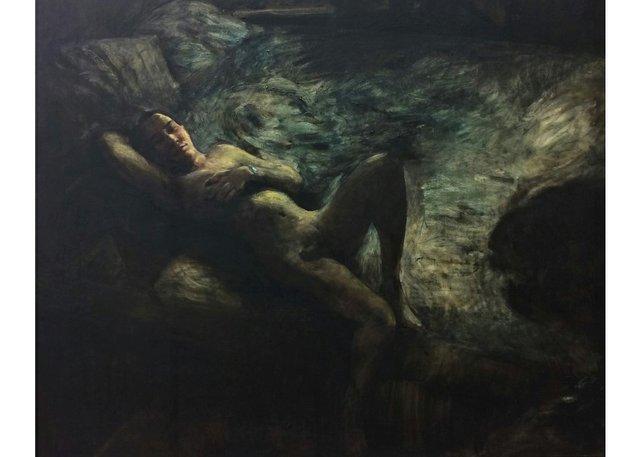 "Attila Richard Lukacs, ""Voyager,"" 1998-2000"