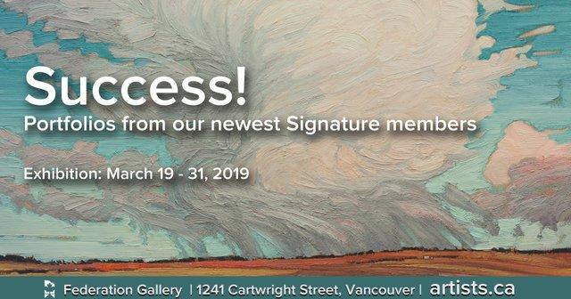 "Federation Gallery,  ""Success!,"" 2019"