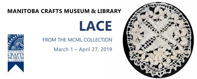 """C2 Centre for Craft, """"Lace: From the MCML Collection,"""" 2019"""