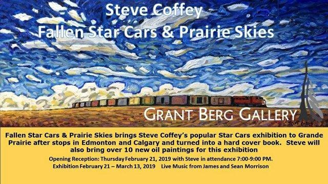 "Steve Coffey, ""Fallen Star Cars & Prairie Skies, 2019"