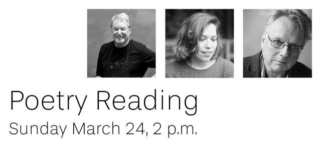 "Seymour Art Gallery, ""Poetry Reading,"" 2019"