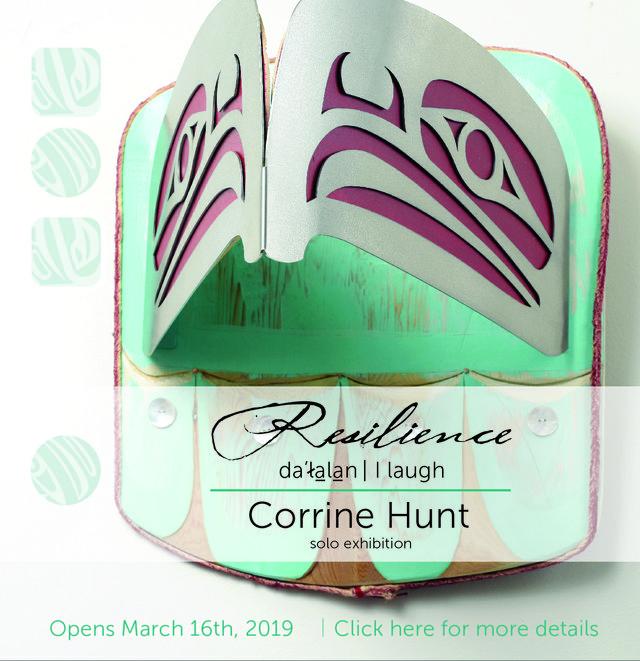 "Corrine Hunt, ""Eagle Mask,"" 2019"