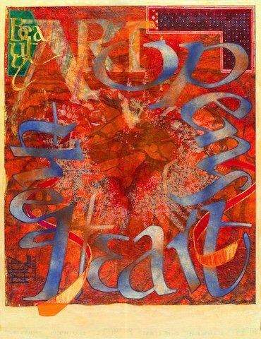 """Dirk van Wyk, """"Art Opens the Heart,"""" nd"""