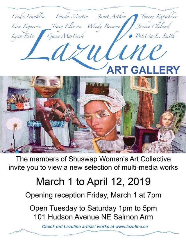 "Lazuline Art Gallery, ""Multi-Media Works,"" 2019"