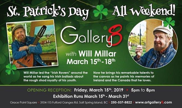 """Gallery 8, """"Will Millar,"""" 2019"""