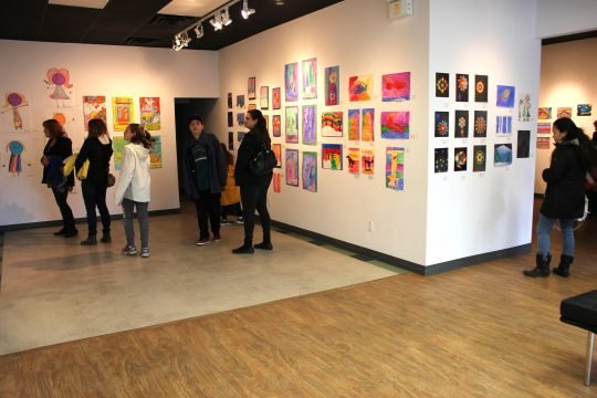 """Art from the Heart, """"Opening Reception,"""" 2017"""