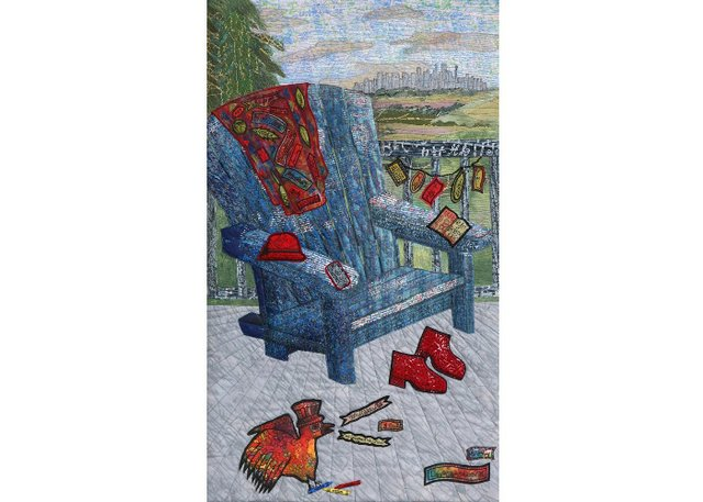 "Linda MacKay, ""If Chairs Could Talk,"" no date"