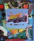 "Barbara Ballachey, ""Blue square,"" nd"