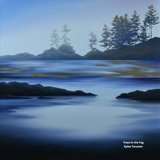 """Kylee Turunen, """"Trees in the Fog,"""" 2019"""