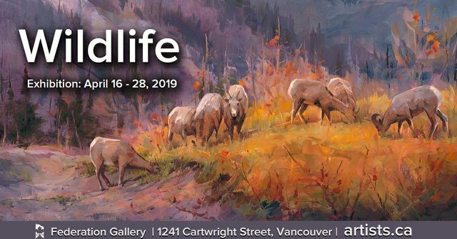 "Federation of Canadian Artists,""Wildlife,"" 2019"