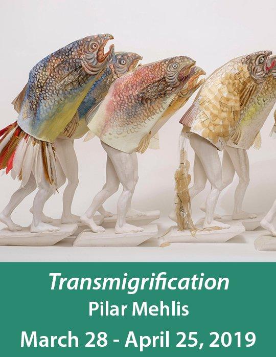 """Pilar Mehlis, """"AntroFish Grouping,"""" 2019"""
