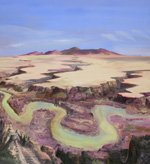 """""""The Milk River and the Sweetgrass Hills"""""""
