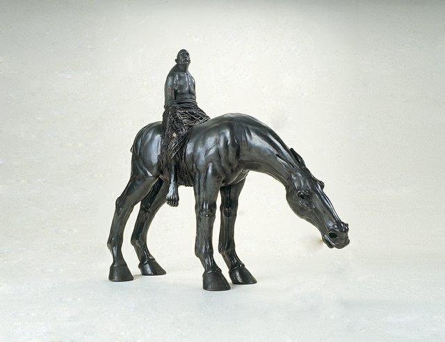 "David Robinson, ""Equestrian Monument,"" 2010"