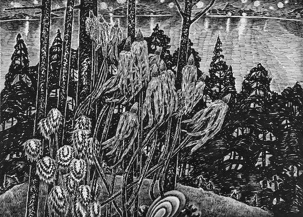 "Philippe Raphanel, ""Hornby Island Memories 2,"" 2018"