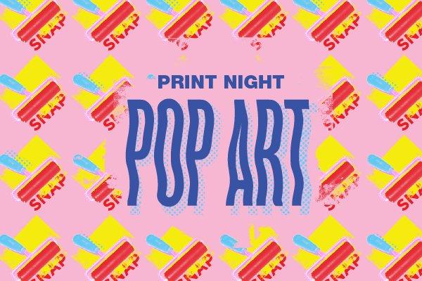 "Jessica Hong, ""Pop Art Print Night,"" 2019"