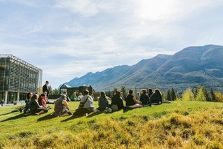 Indigenous Leadership program at Banff Centre (photo by Chris Amat)