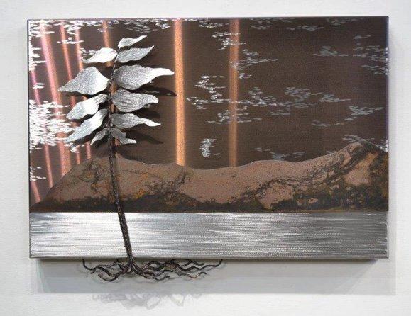 """Floyd Elzinga, """"SILVER TREE #19-029,"""" 2019"""