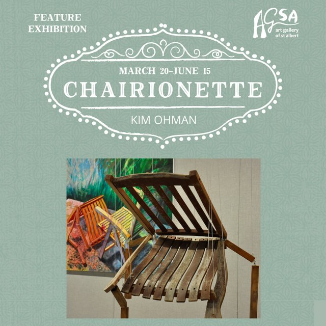"""Kimberly Ohman, """"Chairionette,"""" 2019"""