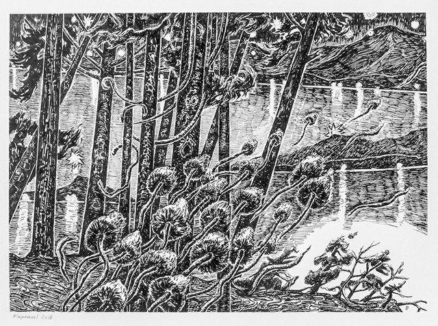 "Philippe Raphanel, ""Hornby Island Memory #11,"" 2018"