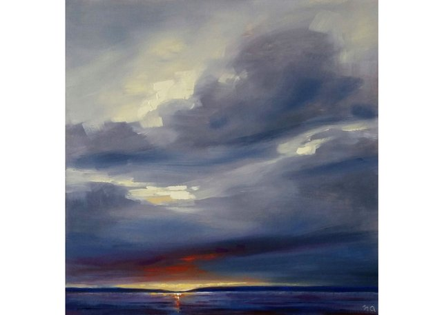 """Nicki Ault, """"Final Heat of the Day,"""" 2019"""