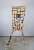 """Samuel Roy-Bois, """"Untitled (ladder),"""" 2018"""