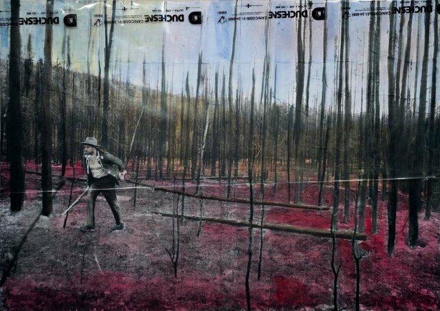 "Joseph Tisiga, ""No Home in Scorched Earth,"" 2014/2019"