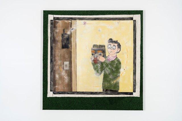 "Joseph Tisiga, ""A Prop for Reconciliation (Dilton),"" 2017"