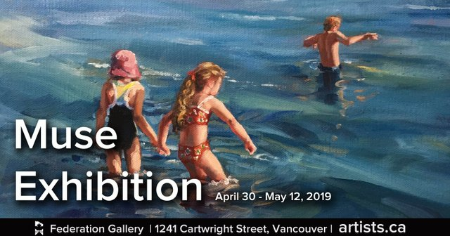 """Federation of Canadian Artists,""""Muse"""" 2019"""