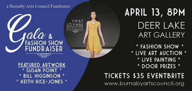Gala & Fashion Show Fundraiser, 2019