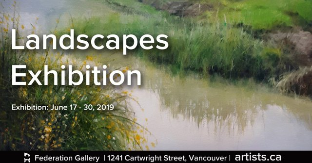 "Federation of Canadian Artists, ""Landscapes,"" 2019"