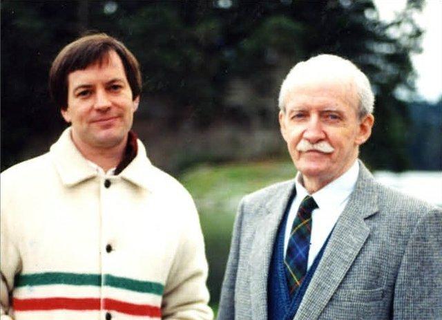 Robert Amos and EJ Hughes