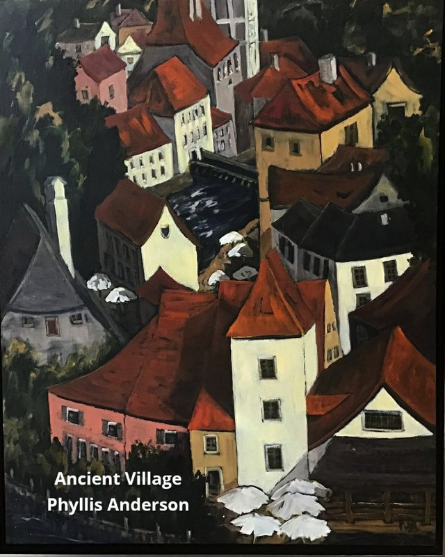 """Phyllis Anderson, """"Ancient Village,"""" nd"""