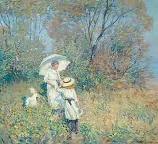 """Helen McNicoll, """"Sunny September,"""" 1913"""