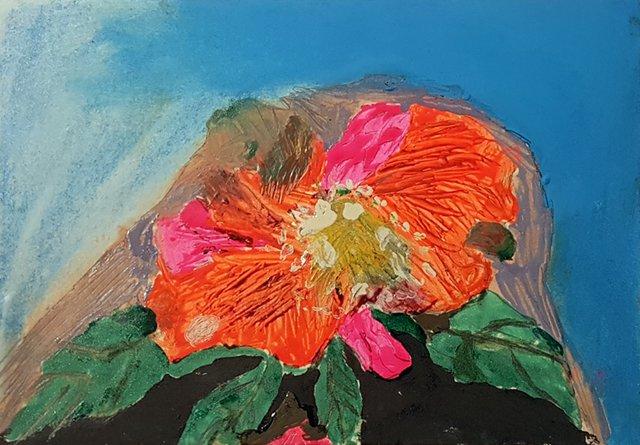 "Dmytro Stryjek, ""Flower,"" 1983"