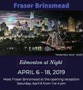 """Fraser Brinsmead, """"Edmonton at Night,"""" 2019"""
