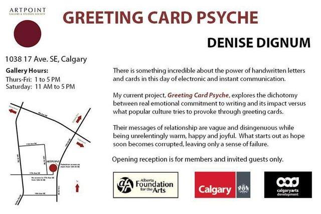 Denise Dignum: Greeting Card Psyche 2