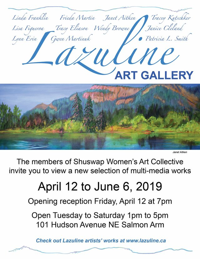 "Shuswap Women's Art Collective, ""Multi-media works,"" 2019"