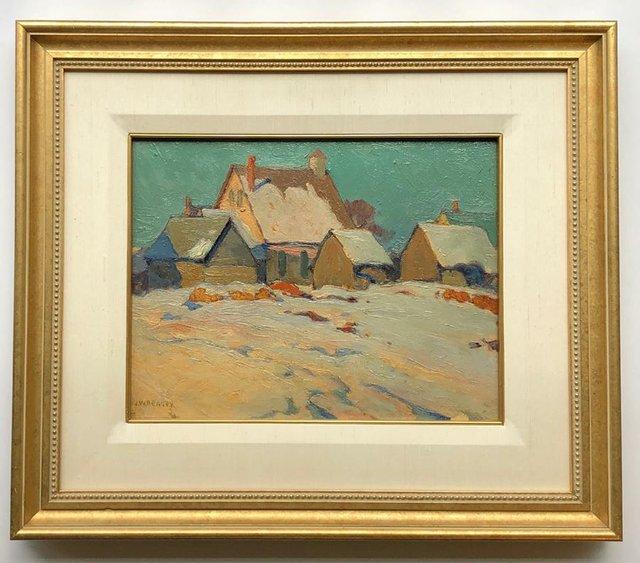 "J. W. Beatty, ""Winter Day, Kearney, Ontario,"" nd"