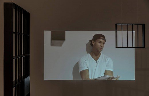 "Deanna Bowen, ""ON TRIAL: The Long Doorway,"" 2019"