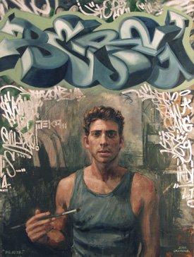 """Portrait of Actor Bryan Greenberg"""