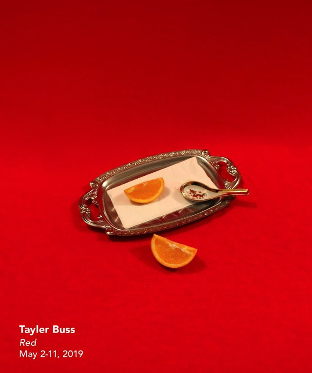 "Tayler Buss, ""Red,"" 2019"